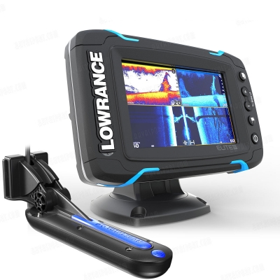 Lowrance Elite-5Ti Mid/High/TotalScan крепление