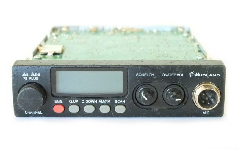 Ремонт радиостанций Алан 78 Плюс - панель управления