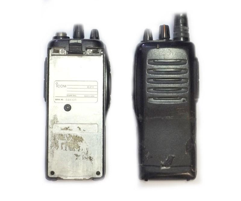 ремонт раций icom f11
