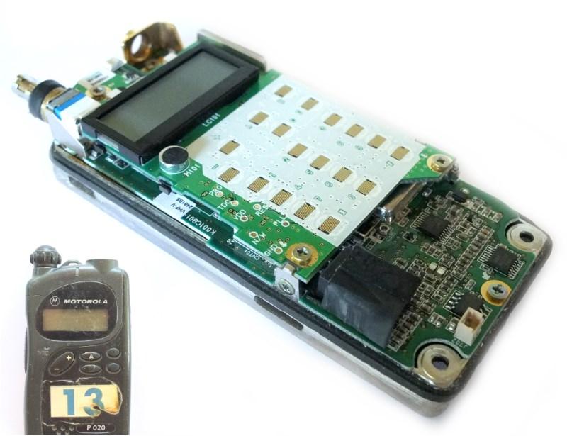 Motorola P020 дисплей