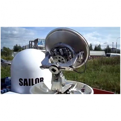 Sailor VSAT 900 установленный