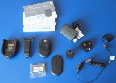 Motorola CLP446 Bluetooth комплектация